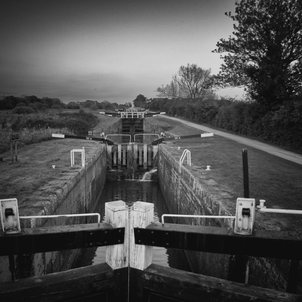 Locks at Caen Hill, Devizes