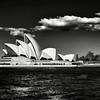 Sydney Opera House BW
