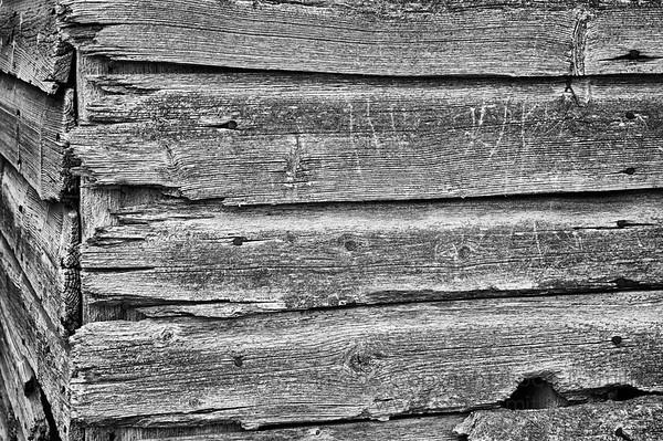 Old barn wood - monochrome