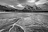 Abraham Lake Ice