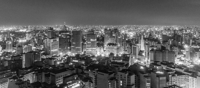 View from Edificio Itália, Sao Paulo, Brazil