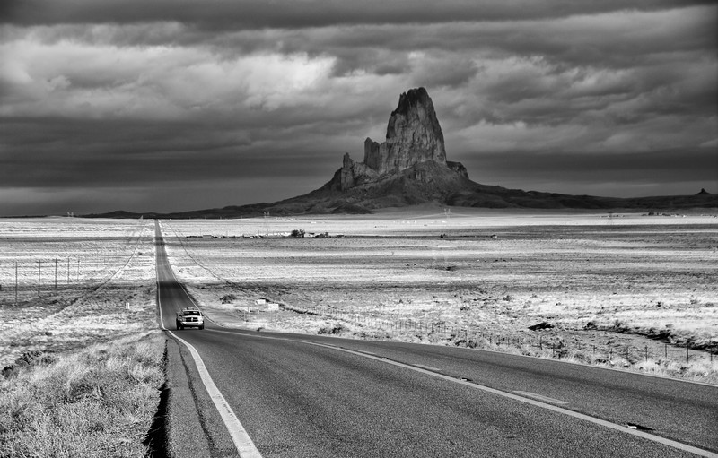 El Capitan - the one near Monument Valley