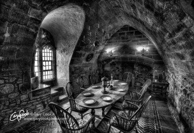 Lindisfarne Castle Dining Room