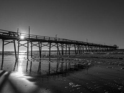 Flare at the Pier