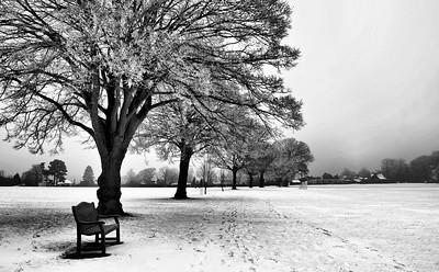 A winter's day in Berkhamsted, UK