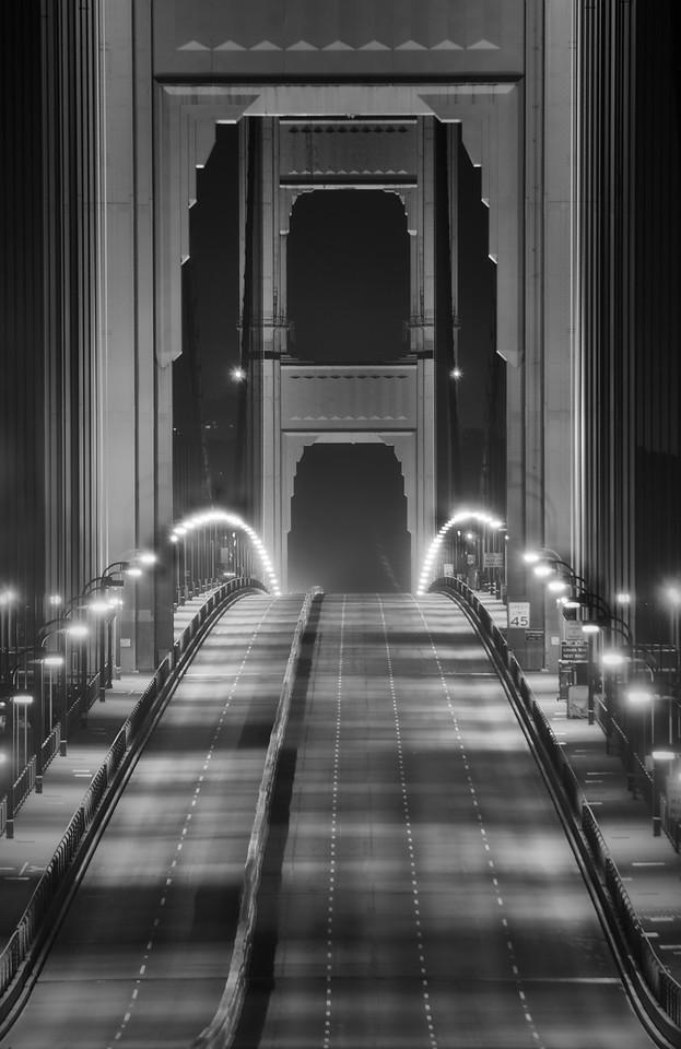Empty Golden Bridge