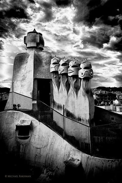 Many Faces of Casa Milà (La Pedrera)