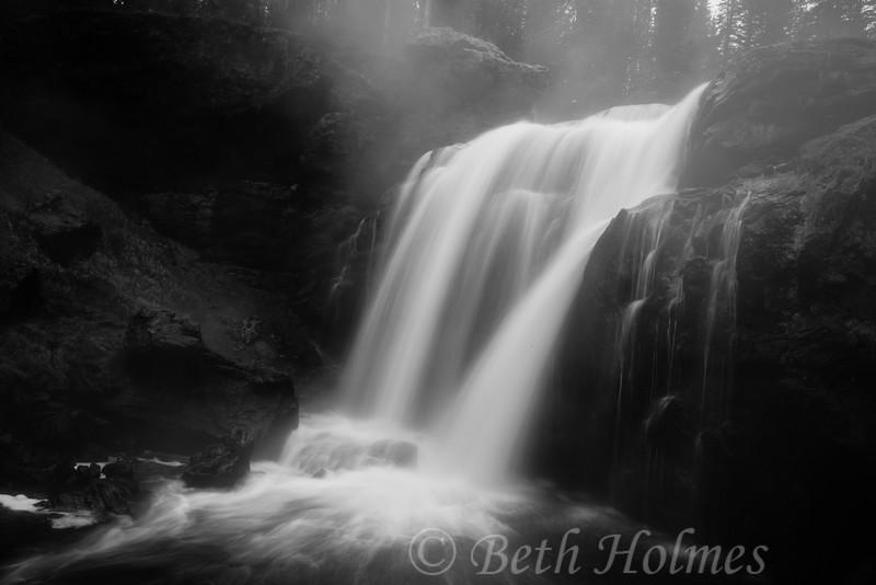 Misty Morning Falls