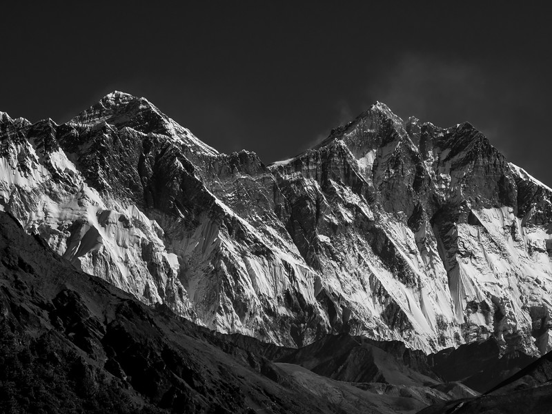 Mount Everest Snow Peak
