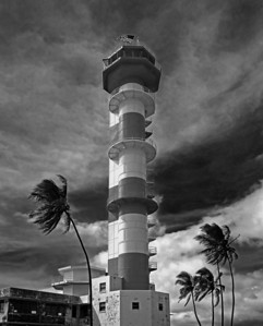 Pearl Harbor / Ford Island control tower near Hanger 79 - Oahu Hawaii