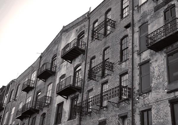 River Street scene, Savannah GA