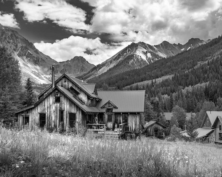 Summer Cabin in the San Juan Mountains