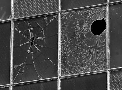 50 caliber bullet holes - Hanger 79 Pearl Harbor