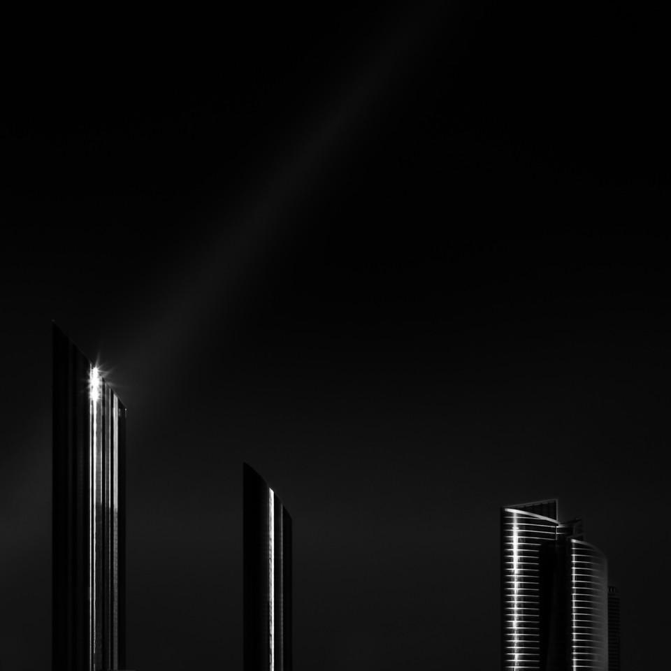 Abu Dhabi in monochrome