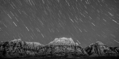Red Rock Star Trails
