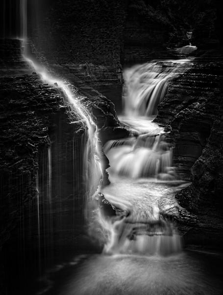 Cascade At Rainbow Falls