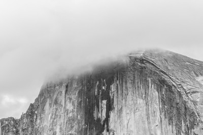 Half Dome. Sentinel Bridge - Yosemite National Park