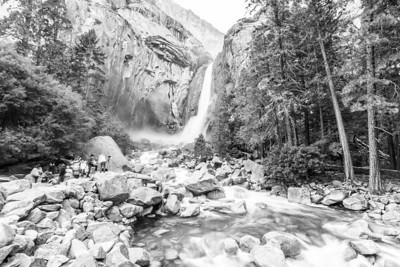 Lower Yosemite Fall - Yosemite National Park