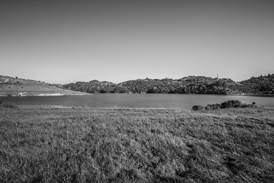 Briones Reservoir. East Bay MUD Park at Briones Overlook Staging Area - Orinda, CA, USA
