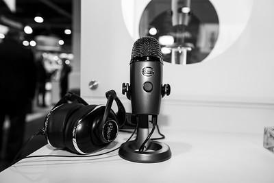Yeti Nano. Blue Microphones Booth. CES (Consumer Electronics Show) 2019 - Las Vegas, NV, USA