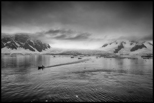"""WALKING ON WATER"", WILHELMINA BAY"