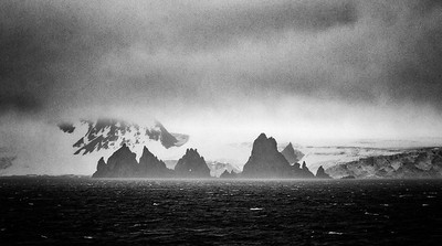 VIEW IN THE SOUTH SHETLAND ISLANDS, NEAR AITCHO ISLAND