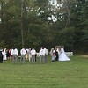 I was surprised to come across this wedding ceremony out in the woods.