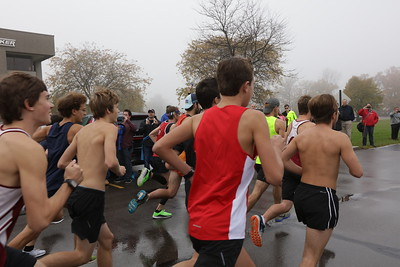 Monroe Half Marathon 2017 Finish Line