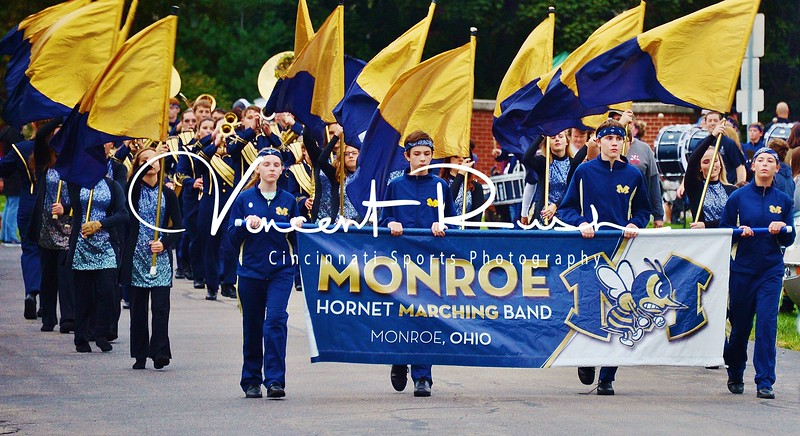 Monroe Hornet Marching Band