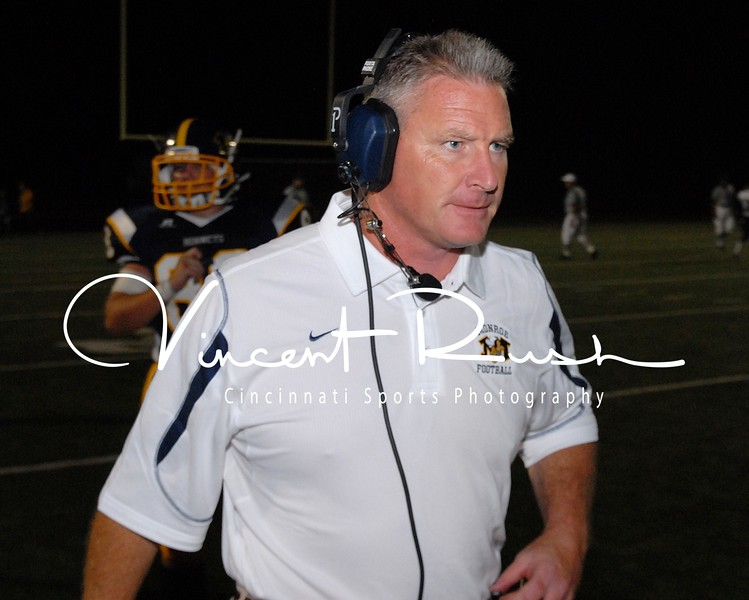 Brett Stubbs. Monroe Hornets Football Sports Photographs. Dayton, Ohio and Cincinnati Sports Photography. All Sports Pictures Photographed by Cincinnati, Sports, Event and Portrait Photographer Vincent Rush. All Pictures taken with Nikon cameras and Nikon Lenses. Vincent Rush is a Cincinnati Photographer and owner of Cincinnati Sports Photography, Cincinnati Portrait Photography and Cincinnati Event Photographer