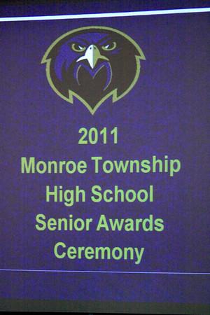2011 Senior Awards/Scholarship ceremony, Marasco Auditorium, May 26th, 2011