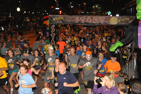 Monster Dash 5K Kansas City 2016
