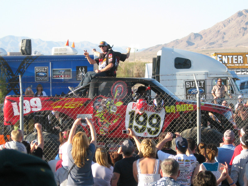 Travis Pastrana at this years event.