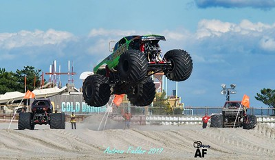 Wildwood NJ Monsters on the Beach