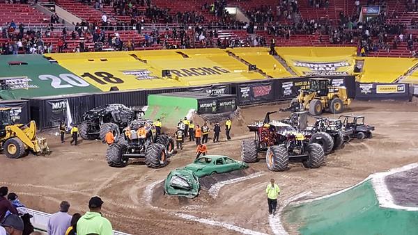 Monster trucks world finals