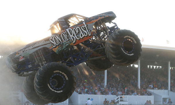 Monster and Mega Trucks Lenawee County Fair