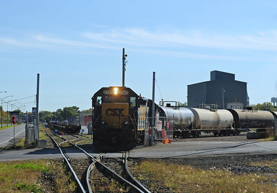 CSX Switcher, Beauharnois, Qc September 30, 2013