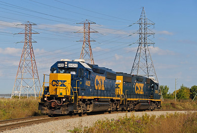 CSX Road Switcher, Beauharnois, Qc September 30 2013
