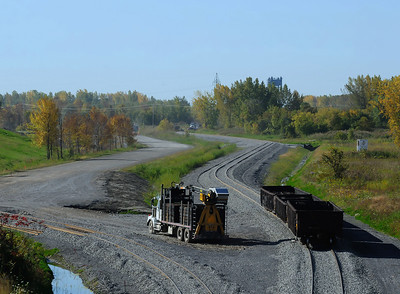 CSX  New Track, Valleyfield, Qc September 30 2013