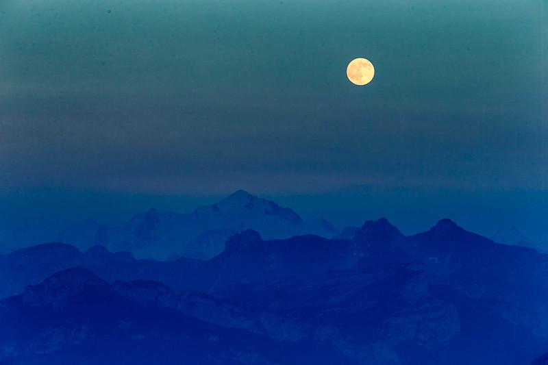 Salève pleine lune-1782