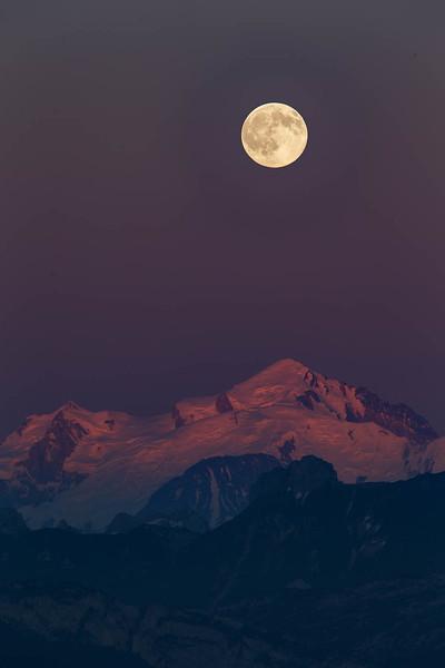 Mont Blanc pleine lune-2891