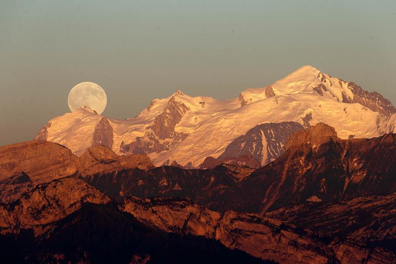 Mont Blanc pleine lune-2830