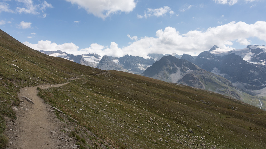 Sentier Balcon Haute Maurienne