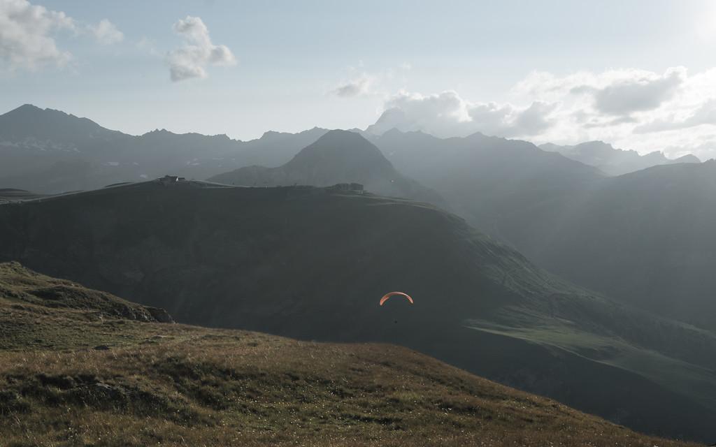 Parapente Val d'Isère