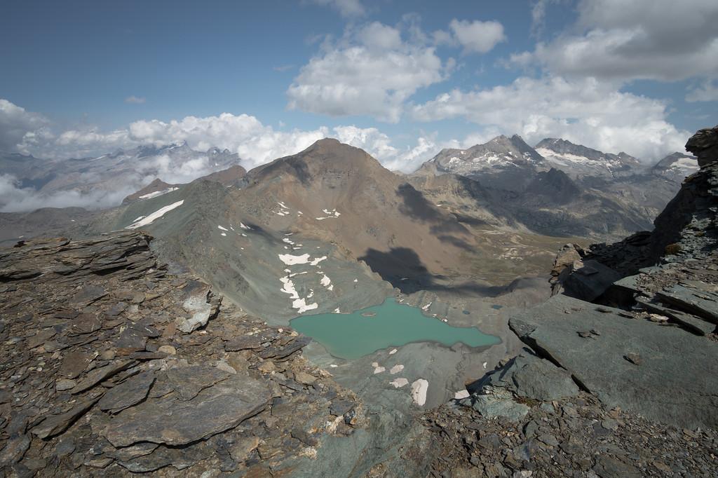 Vistas de alta montaña