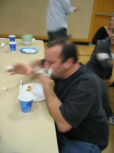 Nov 22 - Thanksgiving Pre-dinner - pie eating relay