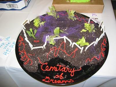 Halloween cake contest