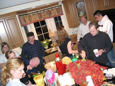 Welcome Dinner - Feb 25, 2004