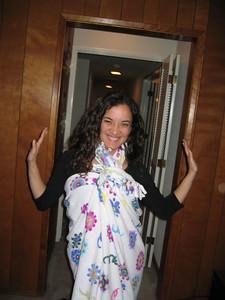 Lenessa's new dress