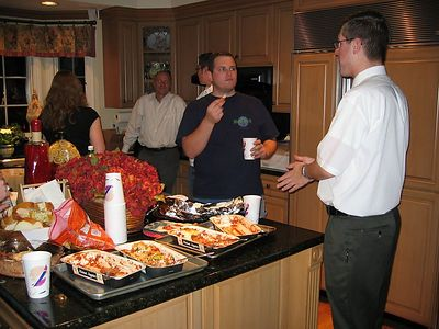 Welcome Dinner - Feb 25, 2004
